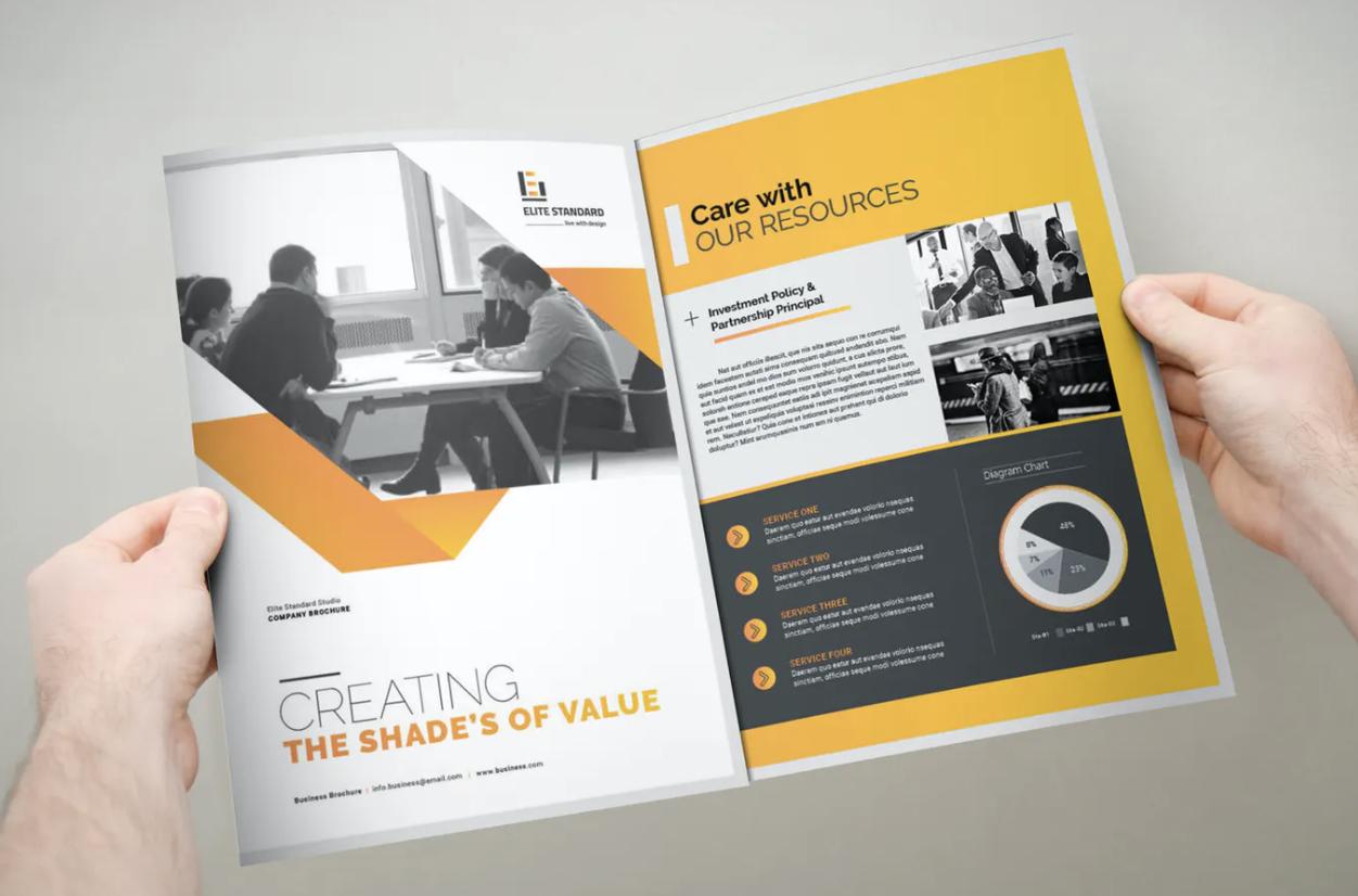 你知道哪几种画册设计常见的版式设计技巧?