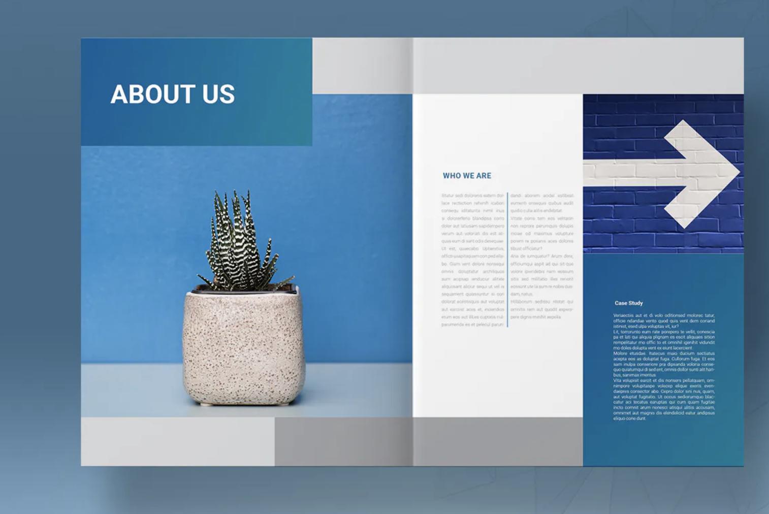 用三招打造出高大上的画册(宣传册)设计